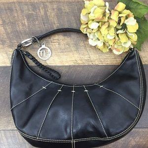 Tommy Hilfiger black handbag purse